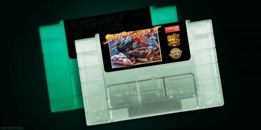 Bojovka Street Fighter 2 znovu vyjde – ve formě cartridge pro SNES