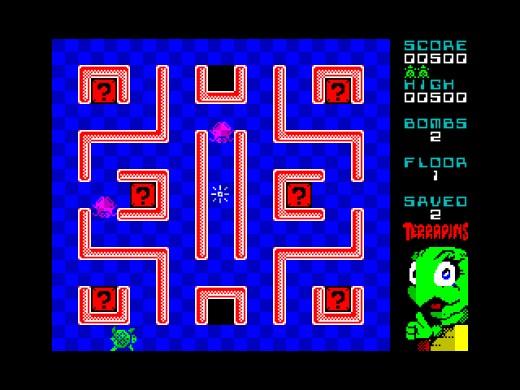 Terrapins, předělávka zapomenuté klasiky pro ZX Spectrum