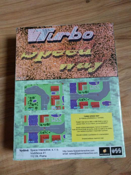 Krabice: Turbo Speedway