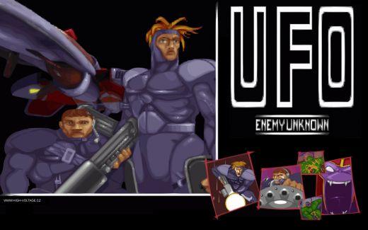 UFO Enemy Unknown (aka UFO Defense) wallpaper