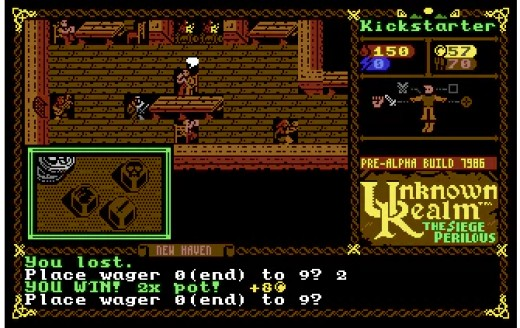 Unknown Realm, nové RPG pro Commodore 64