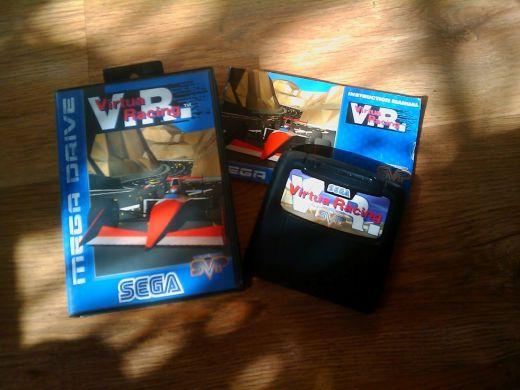 Virtua Racing – závodní nářez pro Mega Drive