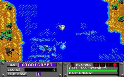 Whitewater Madness, definitivní verze hry pro Atari STe