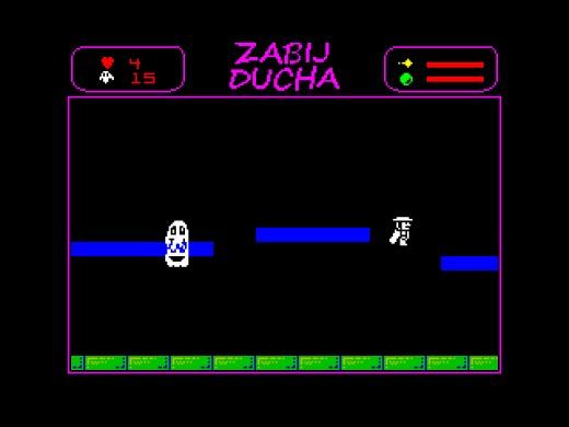Zabij Ducha, nová hra pro ZX Spectrum
