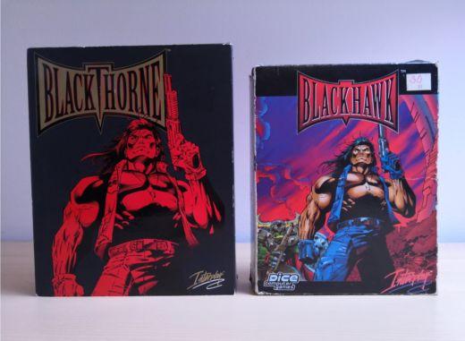 Krabice: Blackthorne a Blackhawk