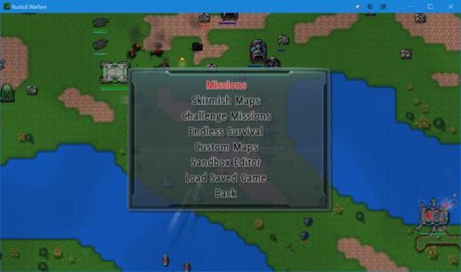 TIP k zahrání: RTS Rusted Warfare