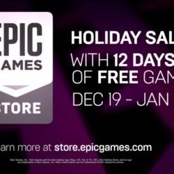 Vánoční dárky na Epic Game Store