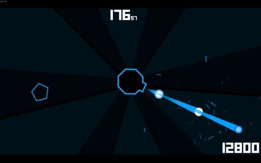 Polygoneer, arkádová střílečka zdarma na Steamu