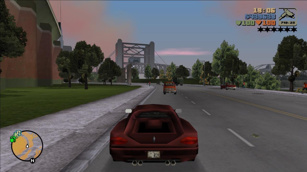 Grand Theft Auto III - první 3D gtáčko po dvaceti letech