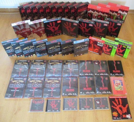 Sběratelství her a big boxů – knihovny sběratelů