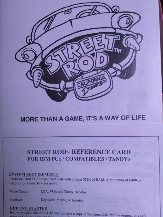 Krabice: Street-Rod