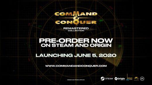 Command & Conquer Remastered vyvádza 5. júna 2020