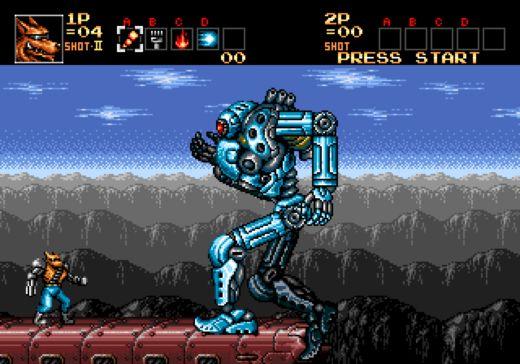 Contra: Hard Corps – simulátor boss fightů