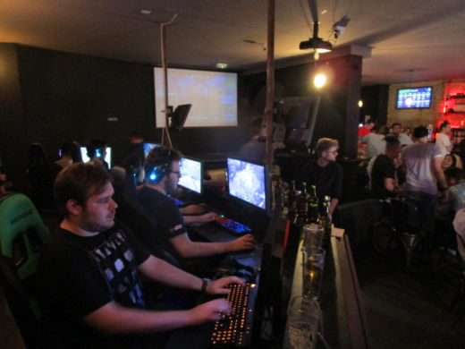 MELTDOWN e-sports bar v Londýně