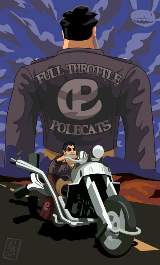 When I'm on the road, I'm indestructible (Full Throttle)