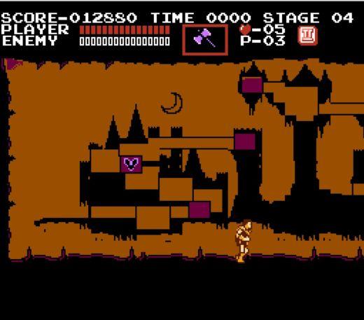 Castlevania – ano, ta úplně první, kde to všechno začalo