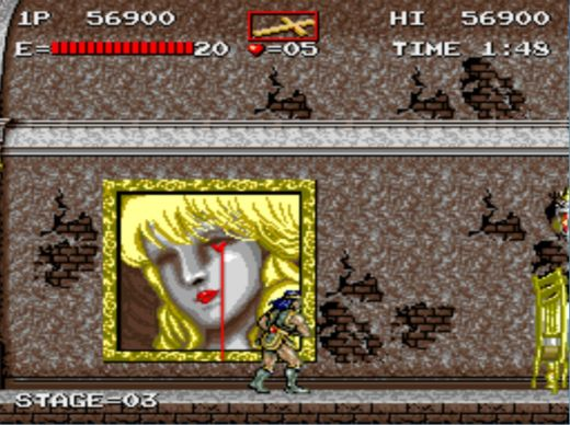 Haunted Castle – overkill Castlevania pro hrací automaty
