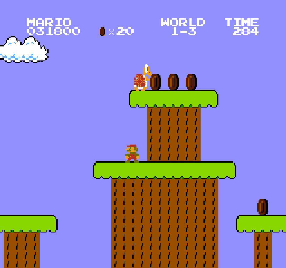 Super Mario Bros. - skákačka s nejslavnějším instalatérem