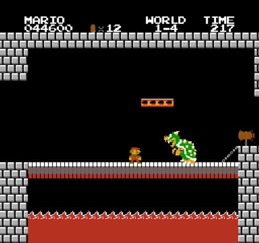 Super Mario Bros. – skákačka s nejslavnějším instalatérem