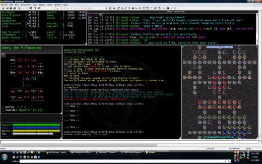 Aardwolf MUD screenshot