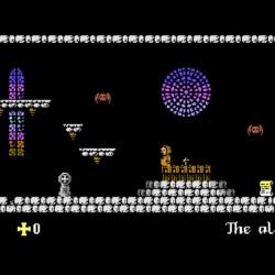 L'Abbaye des Morts, nová plošinovka pro Commodore 64