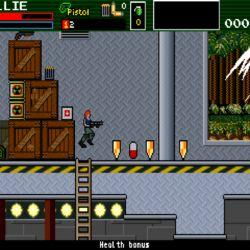 Acronia, nová akční plošinovka pro DOS