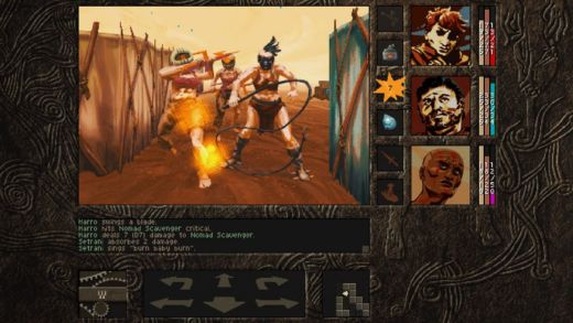 Aeon of Sands – The Trail, postapo krokovací dungeon
