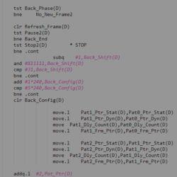 Zdrojové kódy k Agony (Amiga)