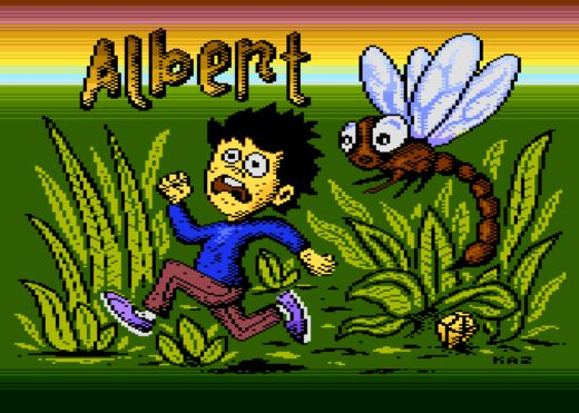 Albert, nová plošinovka pro Atari XL/XE