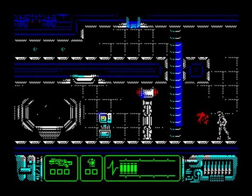 Aliens: Neoplasma, nová plošinovka pro ZX Spectrum 128K