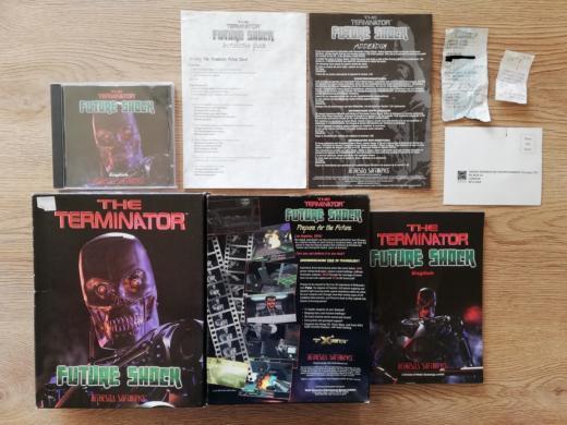 Krabice: The Terminator: Future Shock