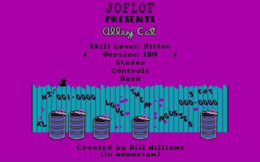 Alley Cat Remeow Edition, předělávka CGA klasiky