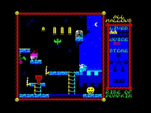 All Hallows: Rise of the Pumpkin, novinka pro ZX Spectrum