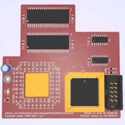 Vyrobte si 4MB Fast Ram kartu pro Amigu 500 / 600