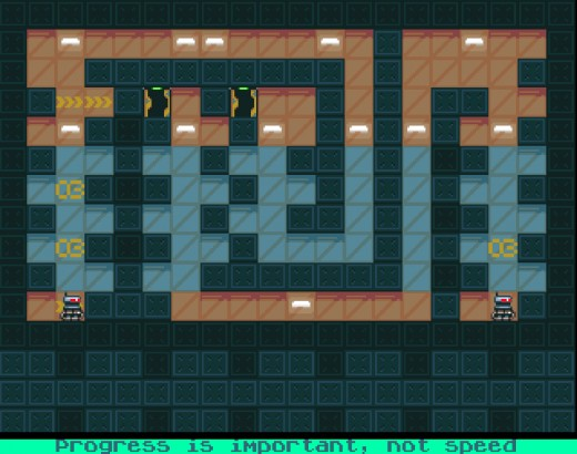 Mirror, nová logická hra pro Amigu