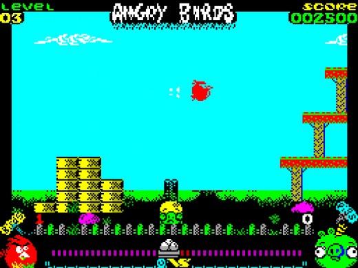 Angry Birds Opposition, novinka pro ZX Spectrum