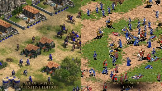 Age of Empires Definitive Edition, 4K remake původních AoE