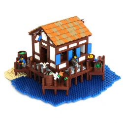 LEGO budovy z Age of Empires 2