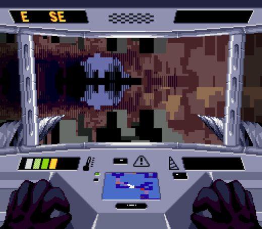 Arkagis Escape, mechová FPS novinka pro Mega Drive