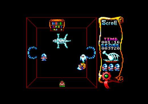 Atic Atac, novinka pro Amstrad CPC