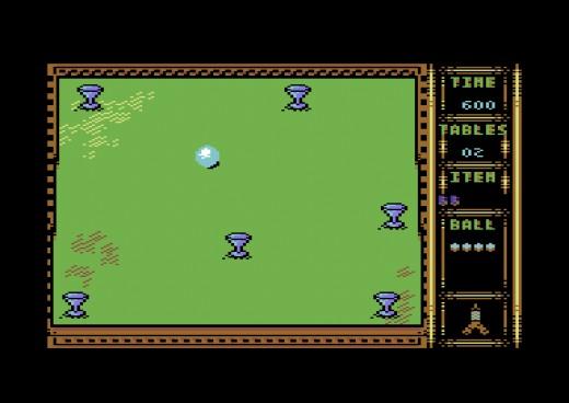 Ball, kulečníkově-logická novinka pro Commodore 64