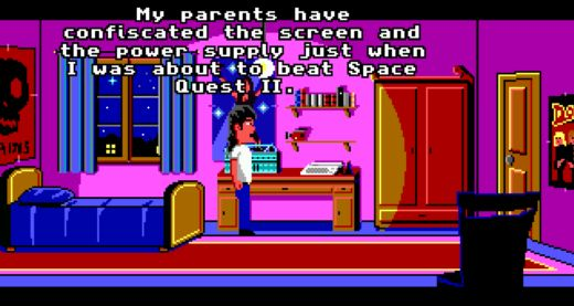 Billy Masters Was Right, retro adventura ve stylu Maniac Mansion