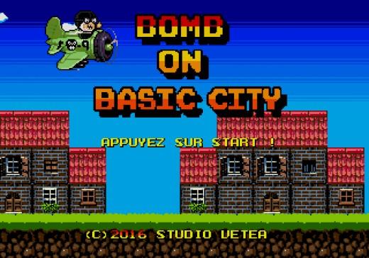 Bomb on Basic City, nová hra pro SEGA Mega Drive