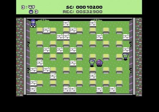 Bomberland pro C64 – dříve komerční hra nyní zdarma