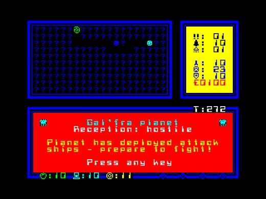 Break/Space, nová hra pro ZX Spectrum