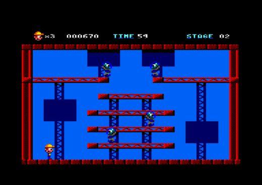 Brick Rick, novinka pro Amstrad CPC 464