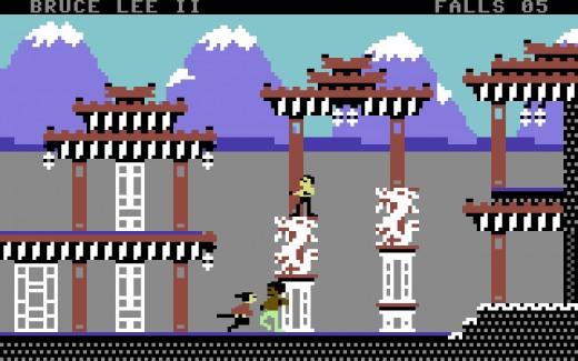Novinka: Bruce Lee II pro Commodore 64