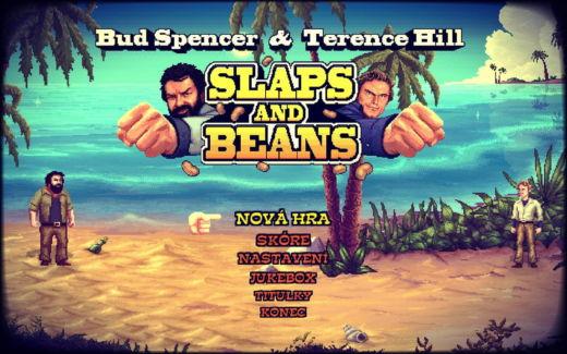 Velmistři bojových umění Bud Spencer & Terence Hill v mlátičce Slaps And Beans