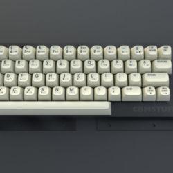Nové keycaps pro Commodore 64