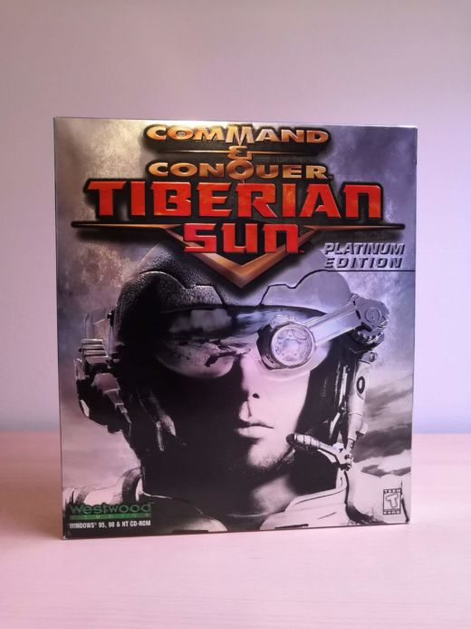 Krabice: Tiberian Sun – Platinum Edition